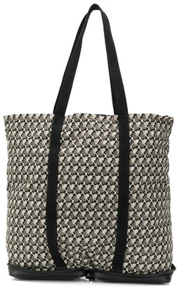 Bottega Veneta butterfly printed tote bag