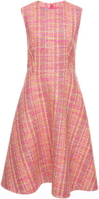 Prada Sleeveless Tweed Dress