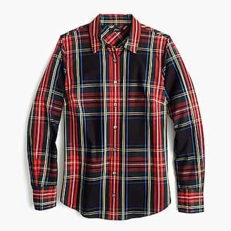 J.Crew Slim stretch perfect shirt in Stewart tartan
