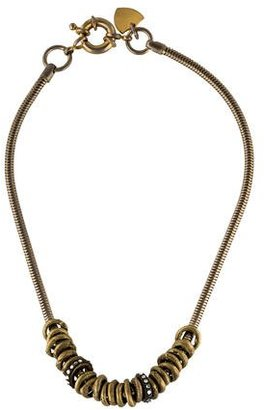 Giles & Brother Crystal Ring Necklace $95 thestylecure.com
