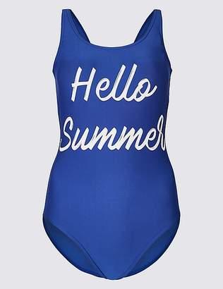 Marks and Spencer Secret SlimmingTM Printed Swimsuit