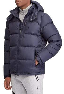 71352ab3cccb Polo Ralph Lauren Quilted Water-Repellent Down Jacket