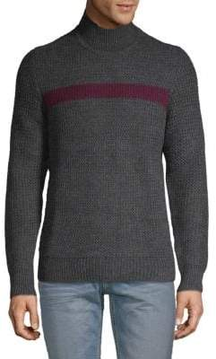 Calvin Klein Contrast Textured Sweater