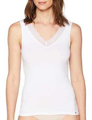 Skiny Women's Advantage Lace Tank Top Vest Not Applicable,(Manufacturer Size: 42)