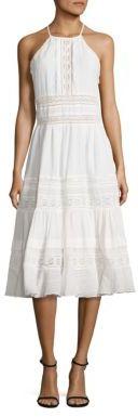 Rebecca Taylor Gauze Midi Dress $595 thestylecure.com