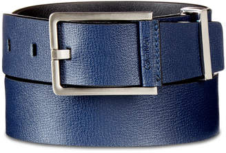 Calvin Klein Men's Textured Leather Belt
