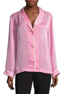 Lord & Taylor Design Lab Long-Sleeve Pajama Top
