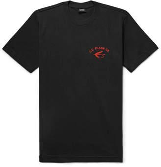 Filson Outfitter Printed Cotton-Jersey T-Shirt - Men - Black
