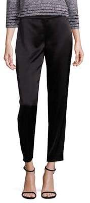St. John Liquid Satin Emma Pants