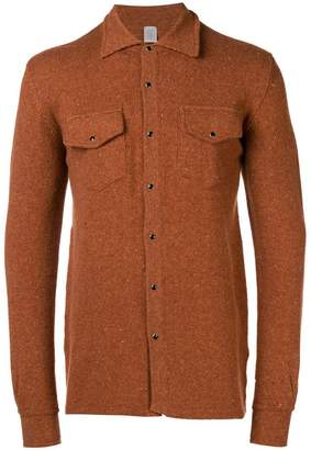 Eleventy press stud overshirt