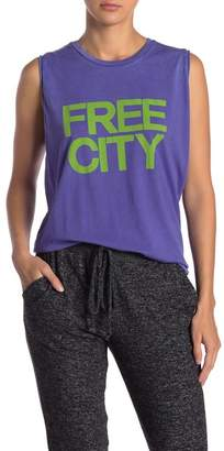 Freecity Free City Graphic Muscle Tank
