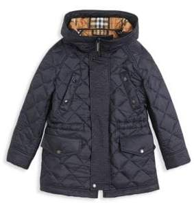 Burberry Little Kid's& Kid's Quilted Jacket