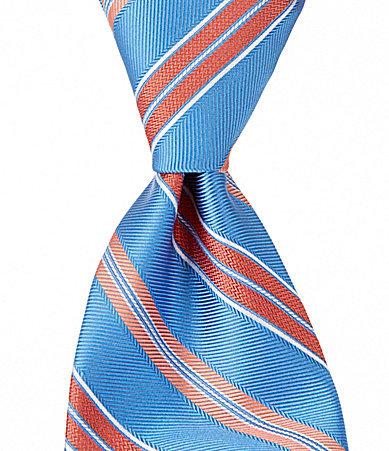 Brooks Brothers Brooks Brothers Alternate Stripe Traditional Silk Tie