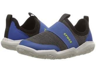 Crocs Swiftwater Easy-On Heather Shoe (Toddler/Little Kid)