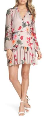 Cooper St Rosa Floral Chiffon Dress