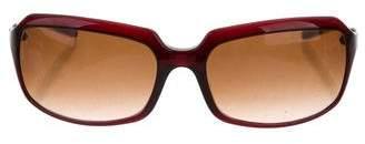 Dolce & Gabbana Logo-Embellished Tinted Sunglasses