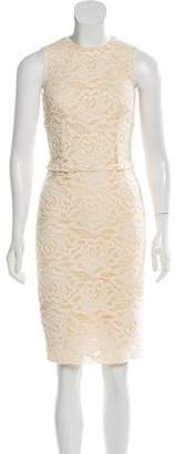 Dolce & Gabbana Lace Sleeveless Dress