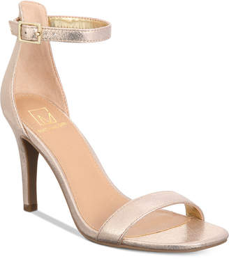 Material Girl Blaire Two-Piece Dress Sandals