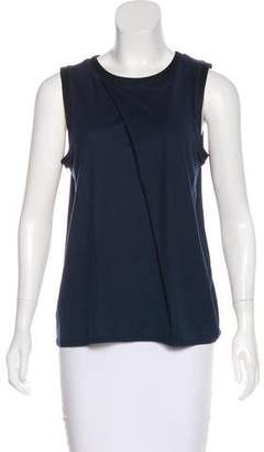 Helmut Lang Jersey Sleeveless Top
