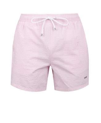 2a10f6aa7f Boss Bodywear BOSS Bodywear Velvet Fish Striped Swim Shorts Colour: BLUE,  Size: SMAL