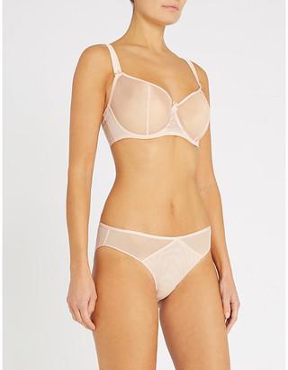 Aubade Comfort half-cup mesh bra