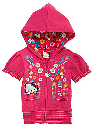 Hello Kitty 2T-6X French Terry Hoodie
