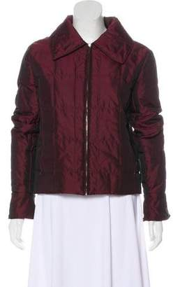 Chanel Satin Quilted Jacket