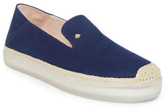 Kate Spade Lisa Canvas Sneaker-Style Espadrilles