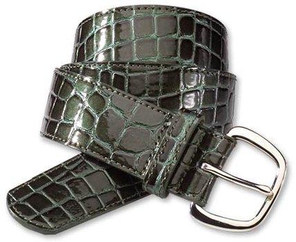 Mock-croc belt