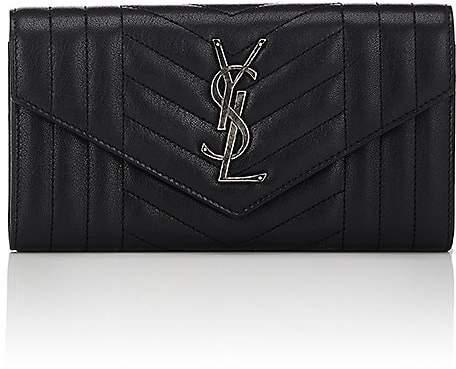 Saint Laurent Women's Monogram Leather Wallet