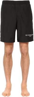 Givenchy Logo Detail Nylon Swim Shorts