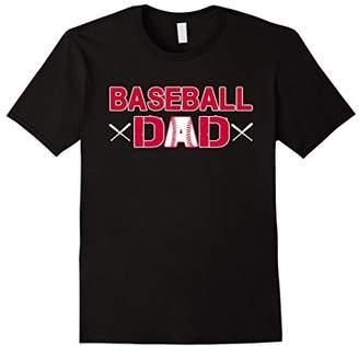 Mens Baseball Dad T Shirt Best Baseball Dad