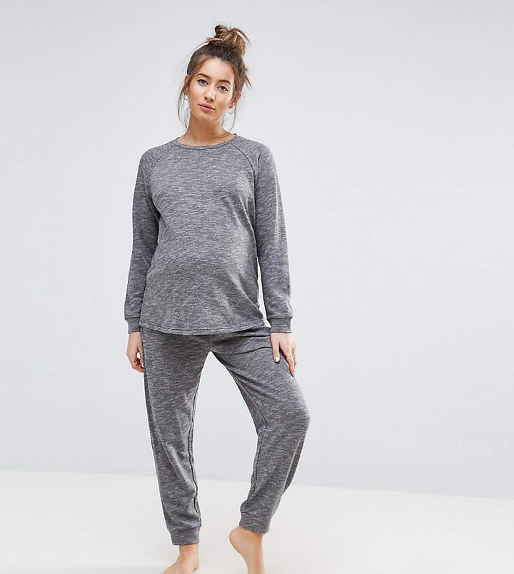 LOUNGE – Set mit lang geschnittenem Sweatshirt und Jogginghose