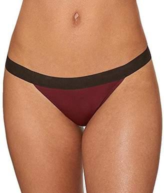 DKNY Women's Classic Cotton Thong