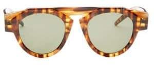 Fiorucci Smoke X Mirrors Smoke x Mirrors x Caramel Tortoise Round Sunglasses