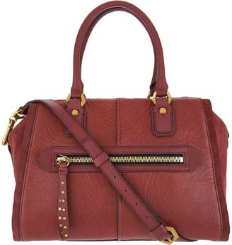 Oryany Lamb Leather Satchel Handbag -Donna