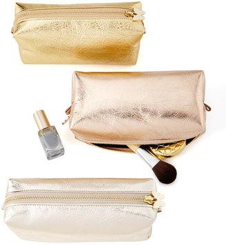 Metallic Cosmetic Travel Case