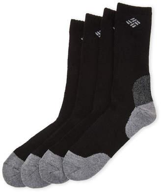 Columbia 4-Pack Mesh Arc Crew Socks