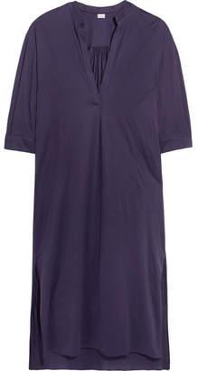 Eres Zephyr Cotton-jersey Dress - Dark purple
