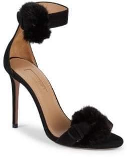 a8b2b87b536 Aquazzura Ankle Strap Women s Sandals - ShopStyle