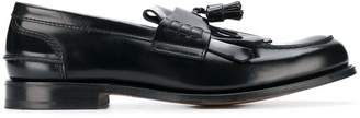 Church's varnished tassel loafers