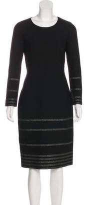 Saint Laurent Wool-Blend Dress