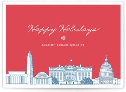 Big City - Washington DC Business Holiday Cards