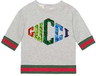Gucci Children's sweatshirt with game patch