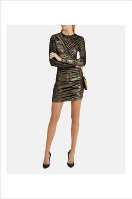 Ronny Kobo Yarden Gold Dress