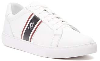 Roberto Cavalli Low Top Lace-Up Leather Sneaker