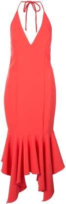 Aidan Mattox fishtail hem dress