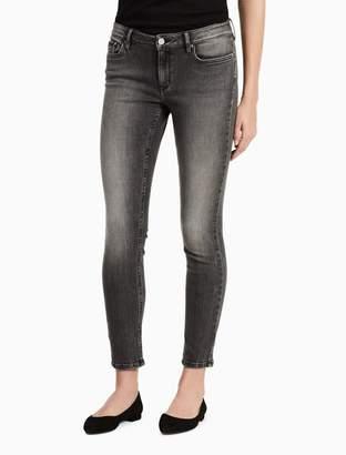 Calvin Klein faded black ankle leggings