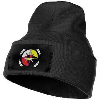 d6b6dc92694 Tao Cap Oplc Medicine Wheel Native Americans Unisex Beanie Hat Warm Hats  Skull Cap Knitted Hat
