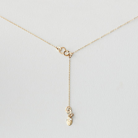 Steven Alan BLANCA MONROS GOMEZ diamond seed lariat necklace